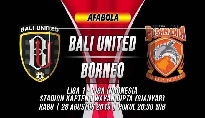 Prediksi Bali United vs Borneo