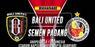 Prediksi Bali United vs Semen Padang