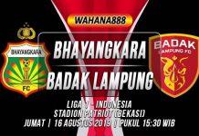 Prediksi Bhayangkara vs Badak Lampung