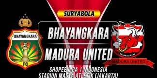 Prediksi Bhayangkara vs Madura United