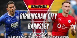 Prediksi Birmingham City vs Barnsley