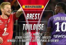Prediksi Brest vs Toulouse