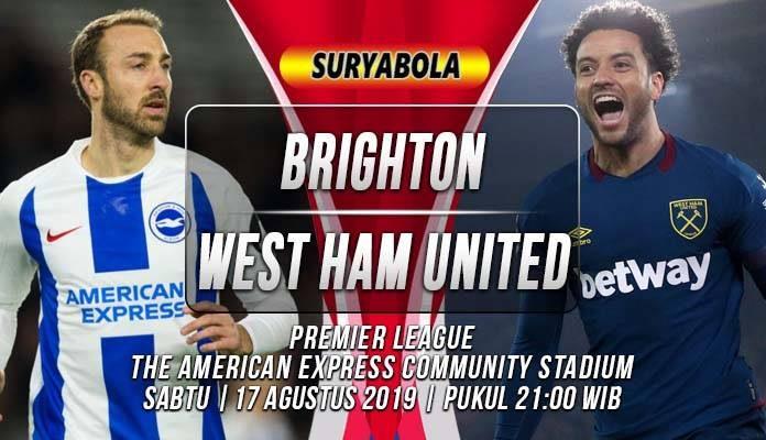 Prediksi Brighton Hove Albion vs West Ham
