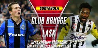 Prediksi Club Brugge vs LASK