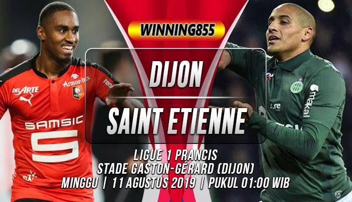 Prediksi Dijon vs Saint Etienne