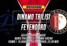 Prediksi Dinamo Tbilisi vs Feyenoord