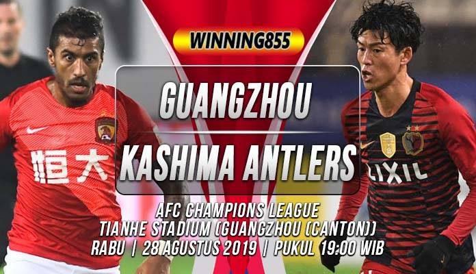 Prediksi Guangzhou Evergrande vs Kashima Antlers