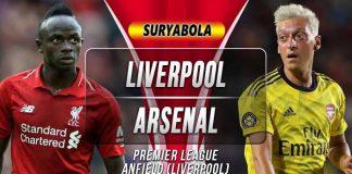 Prediksi Liverpool vs Arsenal
