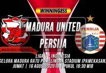 Prediksi Madura United vs Persija