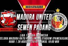 Prediksi Madura United vs Semen Padang