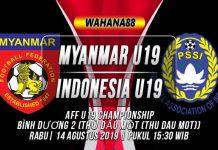 Prediksi Myanmar U19 vs Indonesia U19