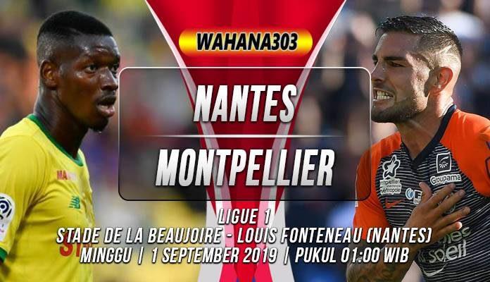 Prediksi Nantes vs Montpellier
