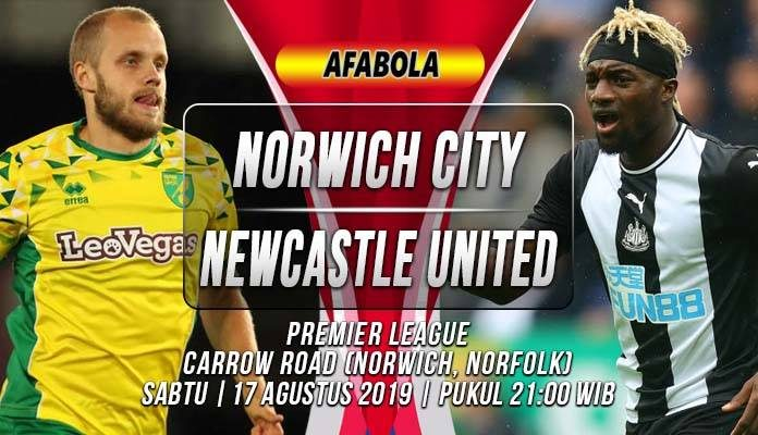 Prediksi Norwich City vs Newcastle United