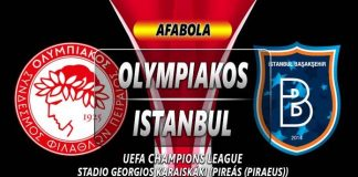 Prediksi Olympiakos vs Istanbul Basaksehir