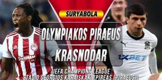 Prediksi Olympiakos vs Krasnodar