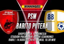 Prediksi PSM Makassar vs Barito Putera