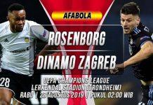 Prediksi Rosenborg vs Dinamo Zagreb