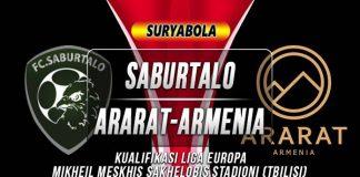 Prediksi Saburtalo vs Ararat Armenia