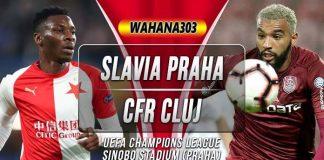 Prediksi Slavia Praha vs CFR Cluj