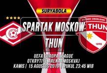 Prediksi Spartak Moskow vs Thun