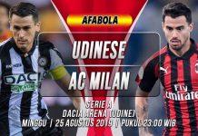 Prediksi Udinese vs AC Milan