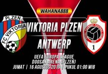 Prediksi Viktoria Plzen vs Antwerp