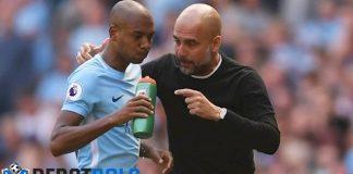 Fernandinho Tak Bikin Guardiola Tenang