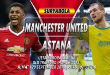 Prediksi Manchester United vs Astana