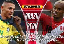 Prediksi Brazil vs Peru 11 September 2019