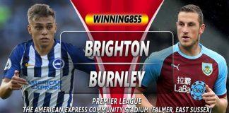 Prediksi Brighton Hove Albion vs Burnley