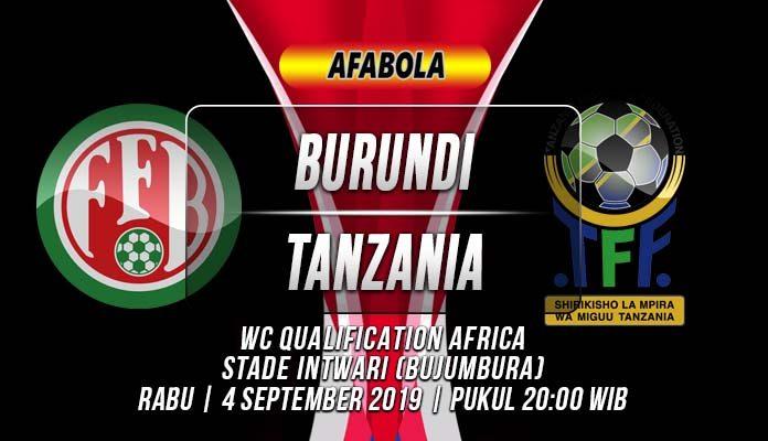 Prediksi Burundi vs Tanzania