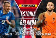Prediksi Estonia vs Belanda