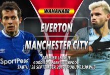 Prediksi Everton vs Manchester City 28 September 2019