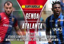 Prediksi Genoa vs Atalanta