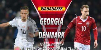 Prediksi Georgia vs Denmark