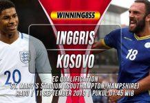 Prediksi Inggris vs Kosovo