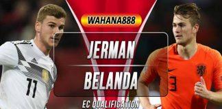 Prediksi Jerman vs Belanda 7 September 2019