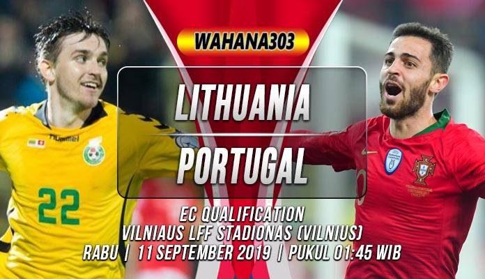 Prediksi Lithuania vs Portugal