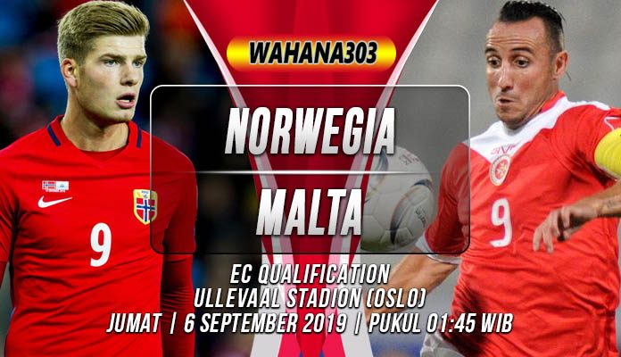 Prediksi Norwegia vs Malta 6 September 2019