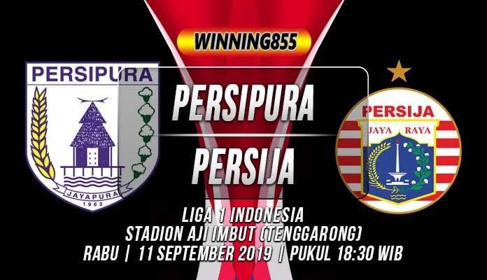 Prediksi Persipura vs Persija 11 September 2019