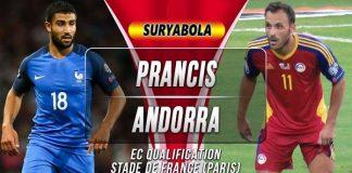Prediksi Prancis vs Andorra