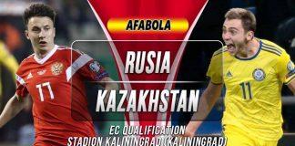 Prediksi Rusia vs Kazakhstan