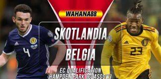 Prediksi Skotlandia vs Belgia
