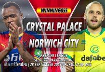 prediksi crystal palace vs norwich city