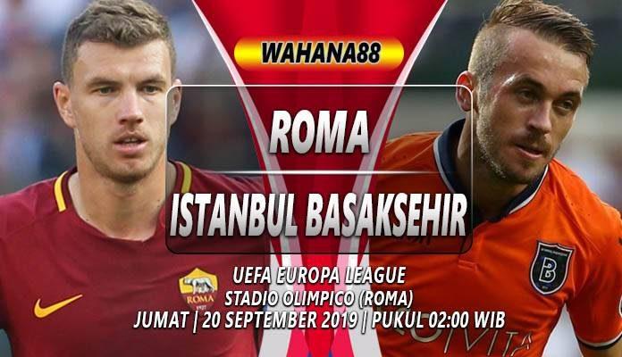Prediksi Roma vs Istanbul Basaksehir