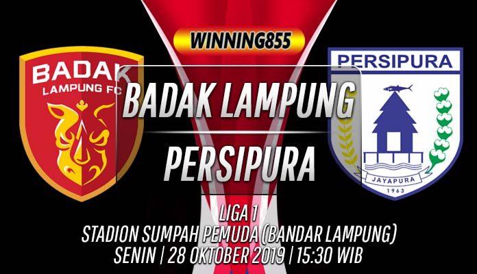Prediksi Badak Lampung vs Persipura 28 Oktober 2019