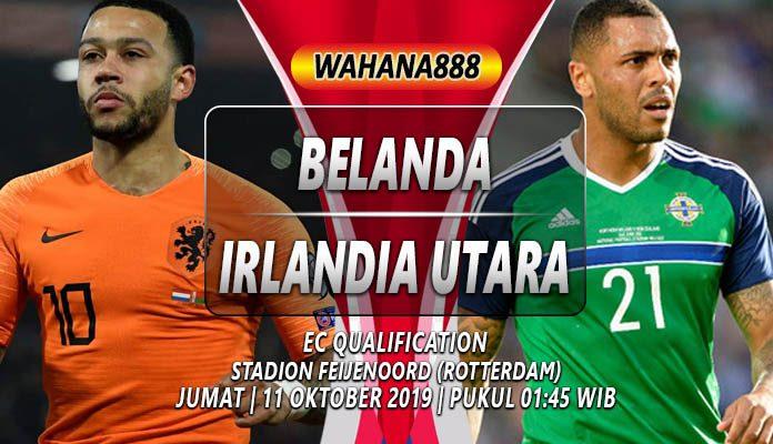 Prediksi Belanda vs Irlandia Utara 11 Oktober 2019