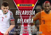 Prediksi Belarusia vs Belanda 13 Oktober 2019