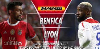 Prediksi Benfica vs Lyon 24 Oktober 2019
