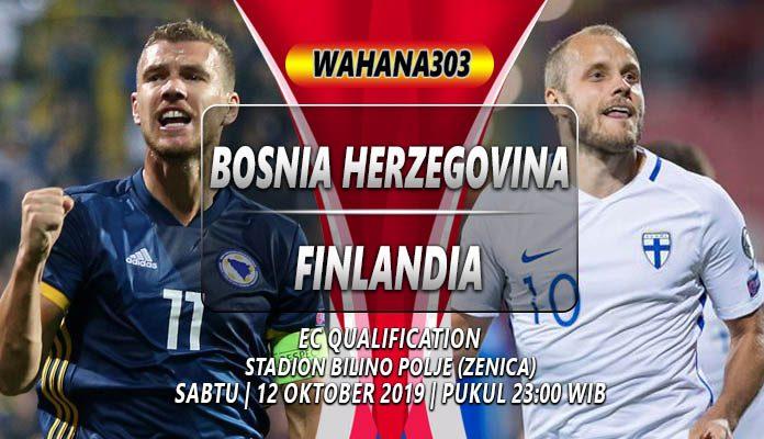 Prediksi Bosnia vs Finlandia 12 Oktober 2019